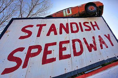 Photograph - Standish Speedway by Gordon Dean II