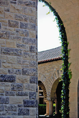 Stanford Memorial Court Arch Art Print