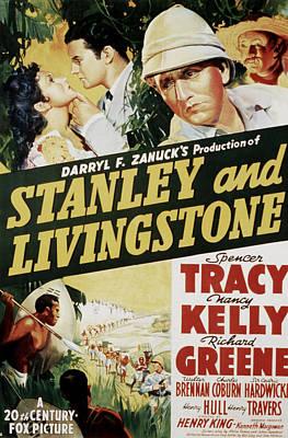 Stanley And Livingstone, Spencer Tracy Art Print by Everett