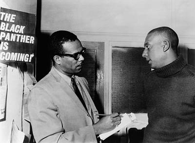 Extremist Photograph - Stanley S. Scott Interviewing Stokely by Everett