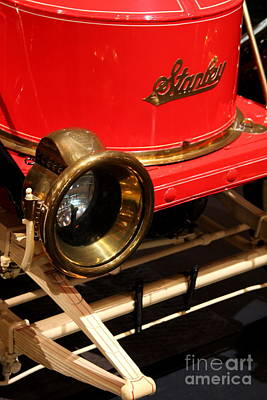 Stanleys Steamers Photograph - Stanley Steamer 1911 - Detail by Christiane Schulze Art And Photography
