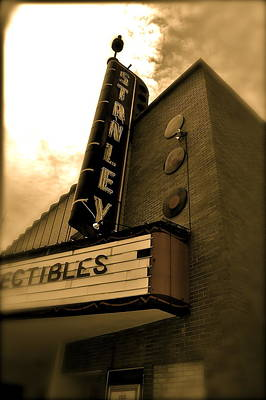 Photograph - Stanley Theatre  by Amber Hennessey