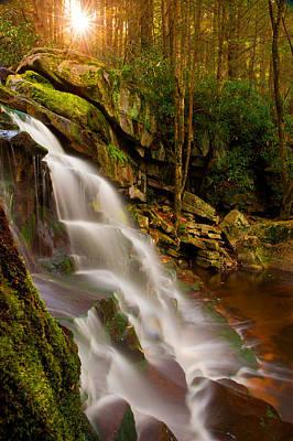 Photograph - Star Falls by Bernard Chen