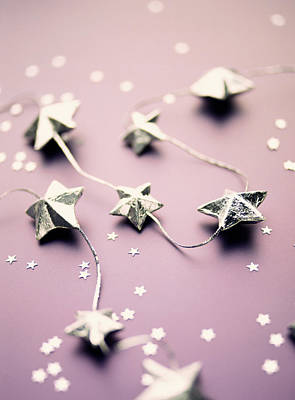 Common Item Photograph - Star Garland by Lawrence Lawry