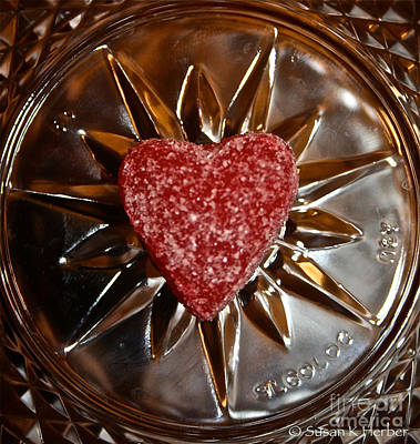 Photograph - Star Heart by Susan Herber