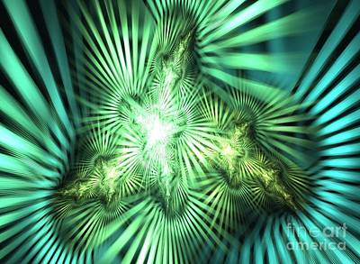 Kim Digital Art - Star Light by Kim Sy Ok