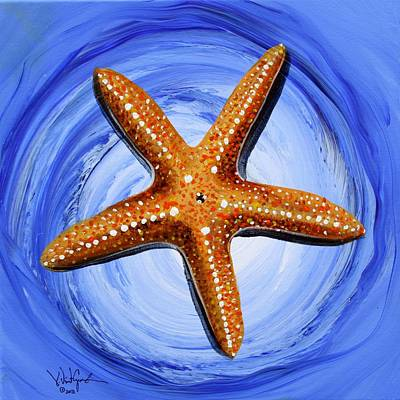 Star Of Mary Art Print by J Vincent Scarpace