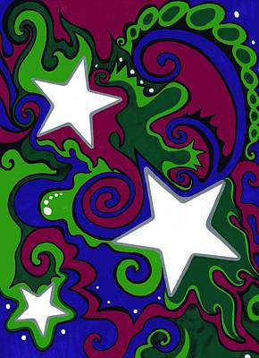 Star Slime Art Print by Mandy Shupp