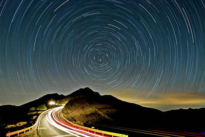 Star Trails Art Print by Higrace Photo