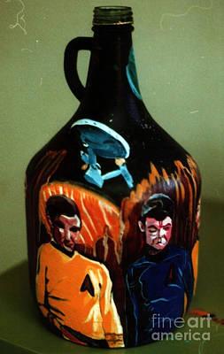 Spock Photograph - Star Trek Away Team by David Karasow