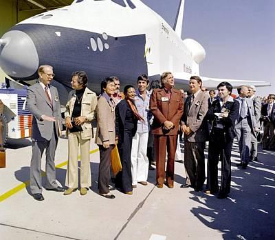 Star Trek Television Cast Members Art Print by Everett
