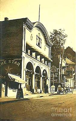 Painting - Star Vaudeville Theatre In Monessen Pa In 1915 by Dwight Goss