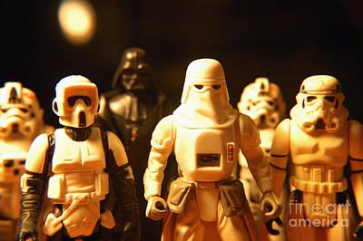 Syfy Photograph - Star Wars Gang 1 by Micah May