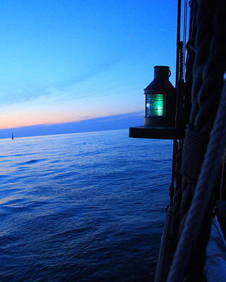 Photograph - Starboard Light by Coby Cooper