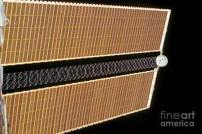 Starboard Solar Array Wing Panel Art Print by Stocktrek Images