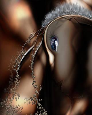 Digital Art - Stare Back by Steve Sperry