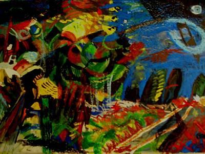 Starry Night Art Print by Carlos Roberto