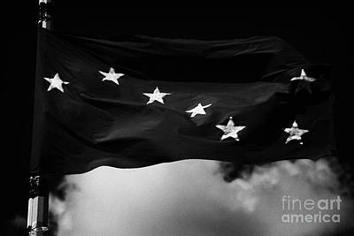 Starry Plough Flag Irish National Liberation Army Inla Ireland Art Print by Joe Fox