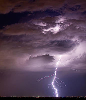 Lightning Bolt Photograph - Starting High by James BO  Insogna