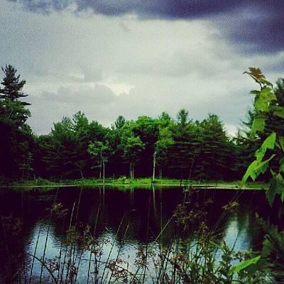 Landscape_lover Photograph - Starting To Rain by Dan Piraino