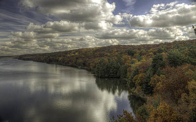 Starved Rock Fall Colors Art Print by Peter Ciro