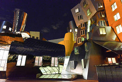 Photograph - Stata Center by Julie Niemela