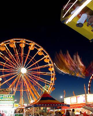 Photograph - State Fair Smear by Heidi Hermes