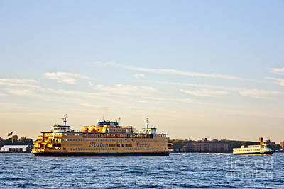 Staten Island Ferry Photograph - Staten Island Ferry by David Bearden