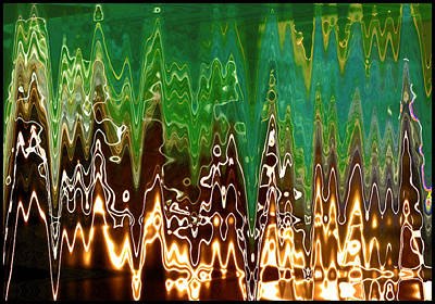 Digital Art - Static Frequency by Ginny Schmidt
