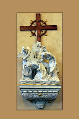 Station Of The Cross 03 Art Print by Thomas Woolworth