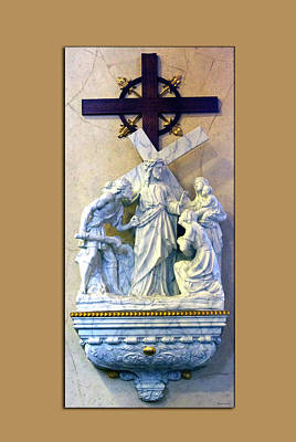 Station Of The Cross 08 Art Print by Thomas Woolworth