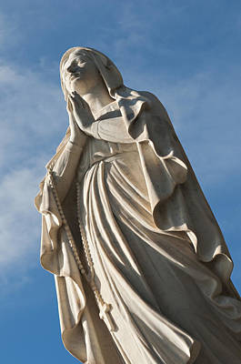 Y120907 Photograph - Statue Madonna Di Lourdes by Driendl Group