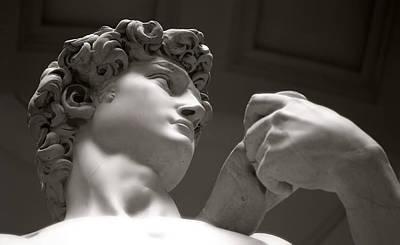 Statue Of David Art Print