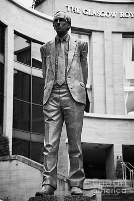 Statue Of Donald Dewar Scotlands First Ever First Minister Glasgow Scotland Uk Art Print by Joe Fox
