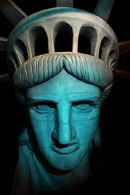 Photograph - Statue Of Liberty -  Liberty Enlightening The World - Usa - America by Lee Dos Santos