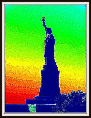 Photograph - Statue Of Liberty-1 by Anand Swaroop Manchiraju