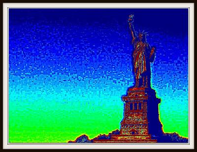 Photograph - Statue Of Liberty-3 by Anand Swaroop Manchiraju