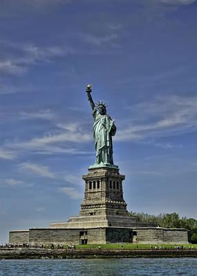 Photograph - Statue Of Liberty by Dan McManus