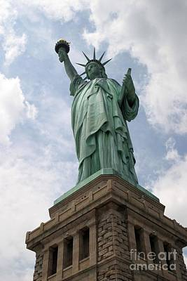 Photograph - Statue Of Liberty by Living Color Photography Lorraine Lynch