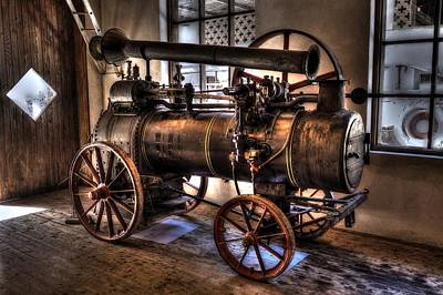 Photograph - Steam Engine by Ivan Slosar