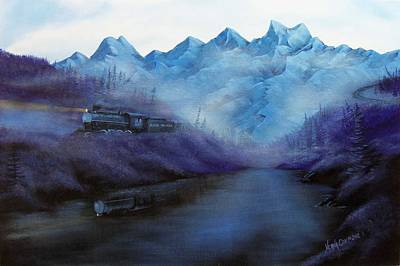 Painting - Steam  Smoke And Mist by Verna Coy