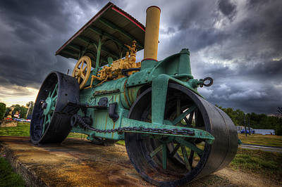 Steam Tractor Photograph - Steam Tractor by Eric Gendron