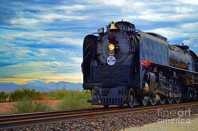 Photograph - Steam Train No 844 - V by Donna Greene