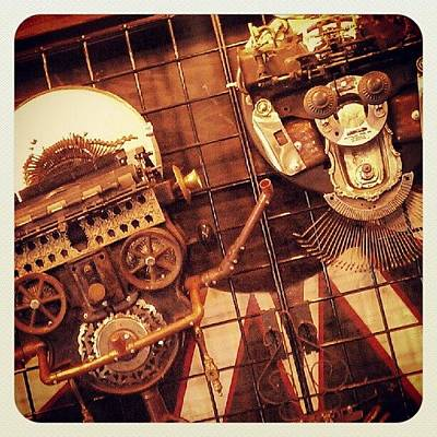 Steampunk Wall Art - Photograph - Steampunk Arts by Jamie Stone