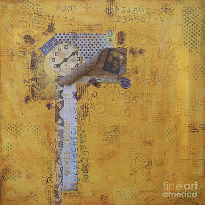 Mixed Media - Steampunk Five by Diana Cox