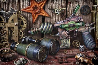 Photograph - Steampunk Still Life by Garry Gay