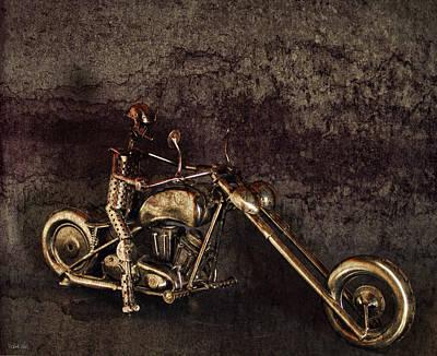 Iron Horse Digital Art - Steel Horse by Peter Chilelli
