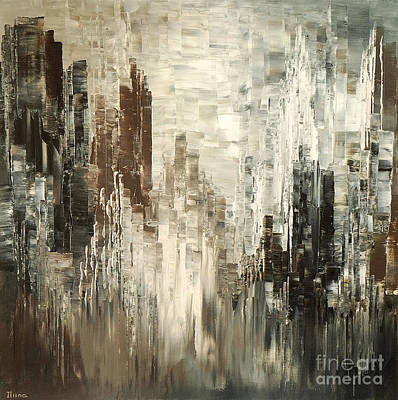 Painting - Steel Towers by Tatiana Iliina
