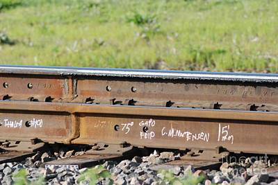 Steel Tracks Art Print by Mark McReynolds