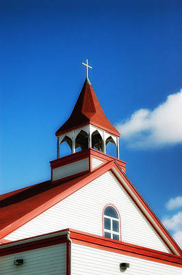 Photograph - Steeple  by Steve Hurt